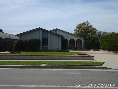 Ventura Single Family Home For Sale: 1559 Johnson Drive