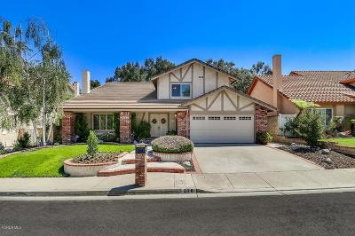 Thousand Oaks Single Family Home For Sale: 278 Fox Hills Drive