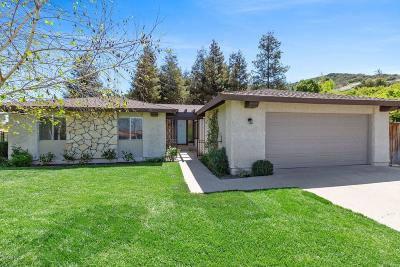 Thousand Oaks Single Family Home For Sale: 608 Kenwood Street