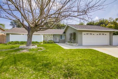 Thousand Oaks Single Family Home Active Under Contract: 2138 Ruskin Avenue