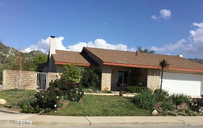 Simi Valley Single Family Home For Sale: 2050 Cheam Avenue