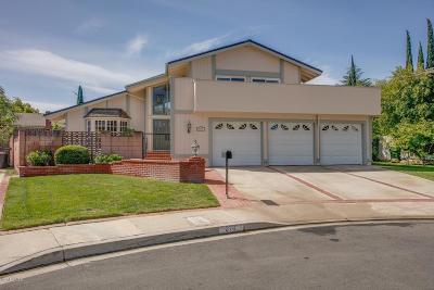 Thousand Oaks Single Family Home For Sale: 2711 North Granvia Place