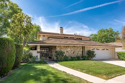 Westlake Village Single Family Home Active Under Contract: 31900 Benchley Court