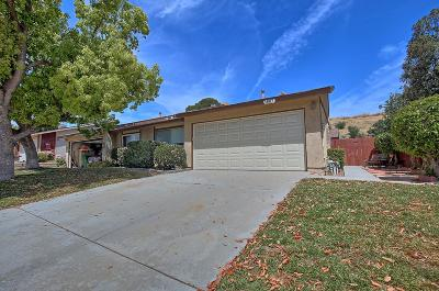 Moorpark Single Family Home For Sale: 14917 Marquette Street