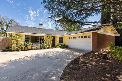 Thousand Oaks Single Family Home For Sale: 1600 Hendrix Avenue