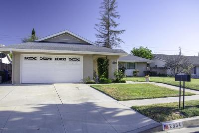 Simi Valley Single Family Home For Sale: 2354 East Alden Street