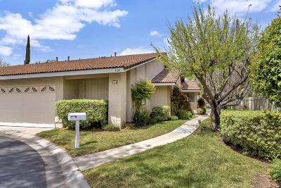 Westlake Village Condo/Townhouse Sold: 1241 Center Court Drive