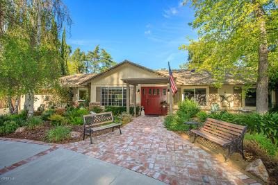 Thousand Oaks Single Family Home For Sale: 1074 Jeannette Avenue