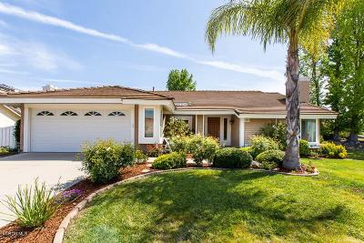 Thousand Oaks Single Family Home For Sale: 3454 Robin Hill Street