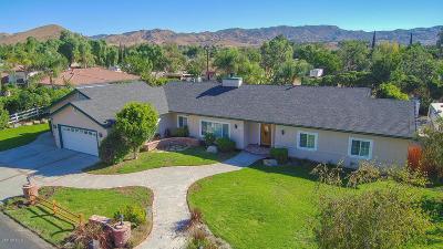Simi Valley Single Family Home For Sale: 4923 Barnard Street