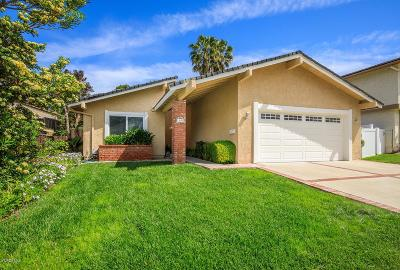 Thousand Oaks Single Family Home For Sale: 1905 Woodside Drive