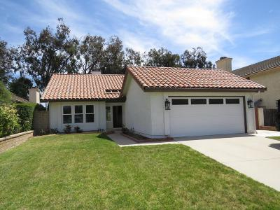 Camarillo Single Family Home Active Under Contract: 5557 Butterfield Street