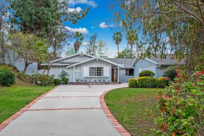 Los Angeles County Single Family Home Active Under Contract: 4610 Blackfriar Road