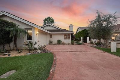 Westlake Village Single Family Home Sold: 4578 Rayburn Street