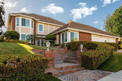 Agoura Hills Single Family Home Sold: 5881 Woodglen Drive