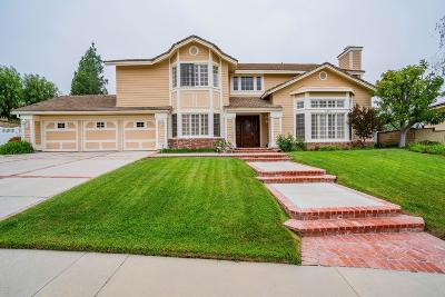 Agoura Hills Single Family Home Sold: 6157 Heritage Drive