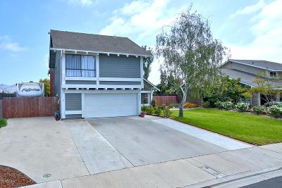 Camarillo Single Family Home Active Under Contract: 5634 Willow View Drive