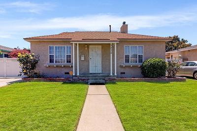 Long Beach Single Family Home For Sale: 5830 East Parapet Street