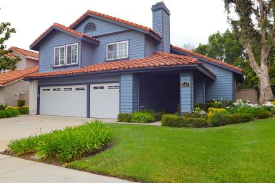 Moorpark Single Family Home Active Under Contract: 12409 Willow Hill Drive