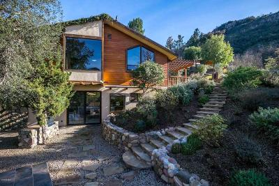 Agoura Hills Single Family Home Active Under Contract: 1857 Lookout Drive
