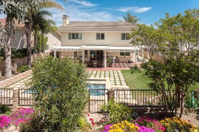 Newbury Park Single Family Home For Sale: 3854 Lesser Drive
