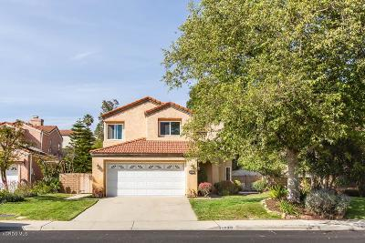 Moorpark Single Family Home Active Under Contract: 15301 Bittner Place