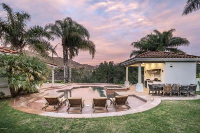 Westlake Village Single Family Home For Sale: 5756 Hidden Brook Court