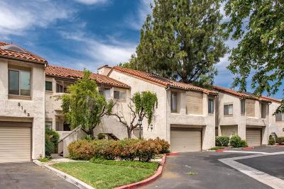 Simi Valley Condo/Townhouse Active Under Contract: 3162 Darby Street #110