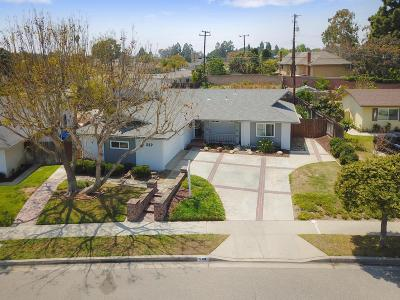 Camarillo Single Family Home Active Under Contract: 569 Walker Avenue