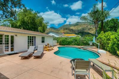 Ojai Single Family Home For Sale: 1110 Sunset Place