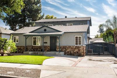 Burbank CA Single Family Home Active Under Contract: $999,900