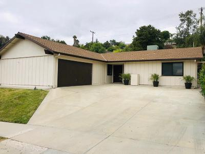 Calabasas Single Family Home For Sale: 26219 Veva Way