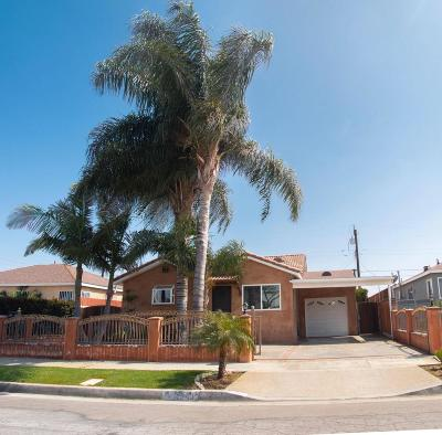 Los Angeles Single Family Home For Sale: 1242 West 118th Street