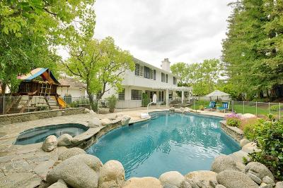 Agoura Hills Single Family Home Active Under Contract: 6105 Braemar Court