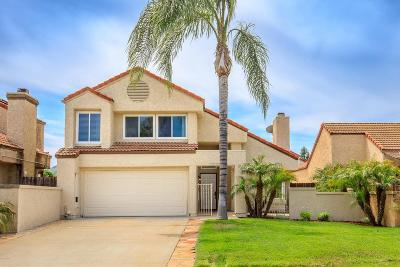 Moorpark Single Family Home Active Under Contract: 15330 East Benwood Drive