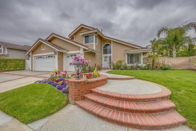 Simi Valley Single Family Home Active Under Contract: 6075 Mescallero Place