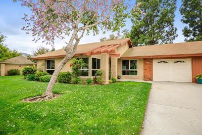 Camarillo Single Family Home For Sale: 15109 Village 15