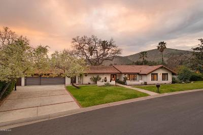 Westlake Village Single Family Home Sold: 1551 Larkfield Avenue