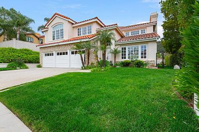Calabasas Single Family Home Active Under Contract: 3749 Camino Codorniz