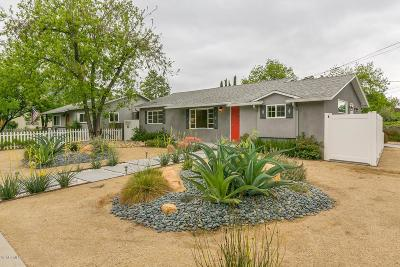 Ojai Single Family Home Active Under Contract: 110 Park Road