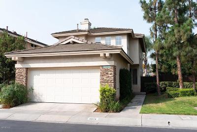 Camarillo Single Family Home For Sale: 4574 Del Rayo Court