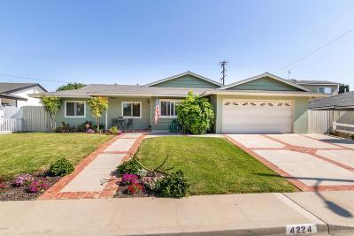 Camarillo Single Family Home Active Under Contract: 4224 Fortuna Avenue