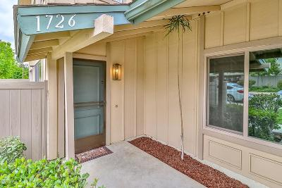 Thousand Oaks Condo/Townhouse Active Under Contract: 1726 Orinda Court