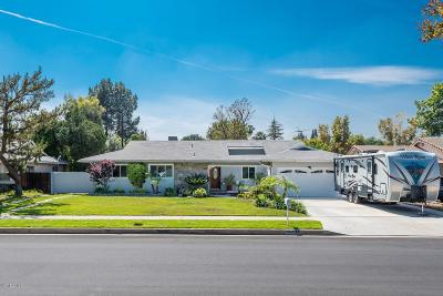 Northridge Single Family Home Active Under Contract: 10127 Amestoy Avenue