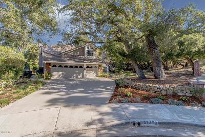 Westlake Village Single Family Home For Sale: 32479 Fastwater Court