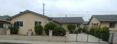 Ventura County Single Family Home For Sale: 1551 Morris Street