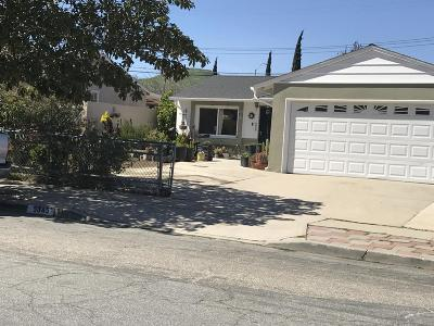 Ventura Single Family Home For Sale: 5345 Norway Drive