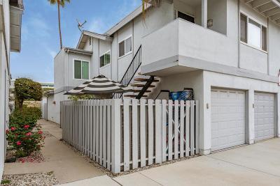 Ventura Condo/Townhouse For Sale: 2559 Harbor Boulevard #2