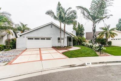 Camarillo Single Family Home For Sale: 910 Comanche Court