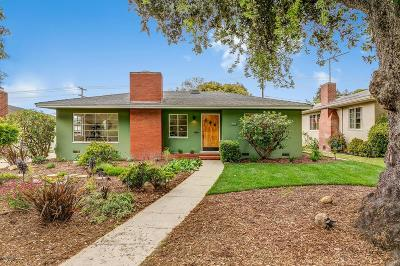Ventura Single Family Home For Sale: 257 Carol Drive